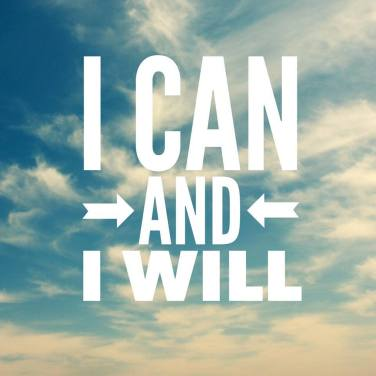 I Can and I have